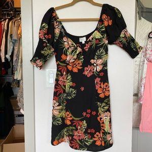Lost + Wander Aloha Lei Mini dress xs